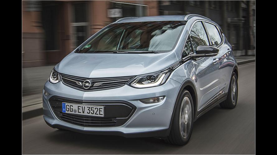 Elektroauto Opel Ampera-e im Test