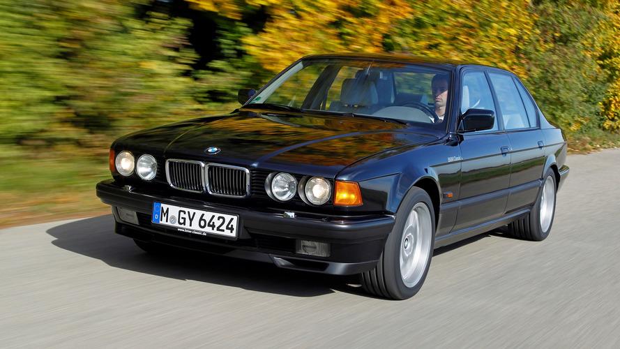 La BMW Série 7 a 40 ans !
