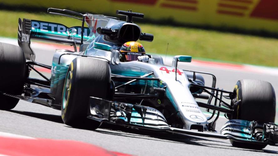 F1 – Lewis Hamilton et Mercedes en pole en Espagne