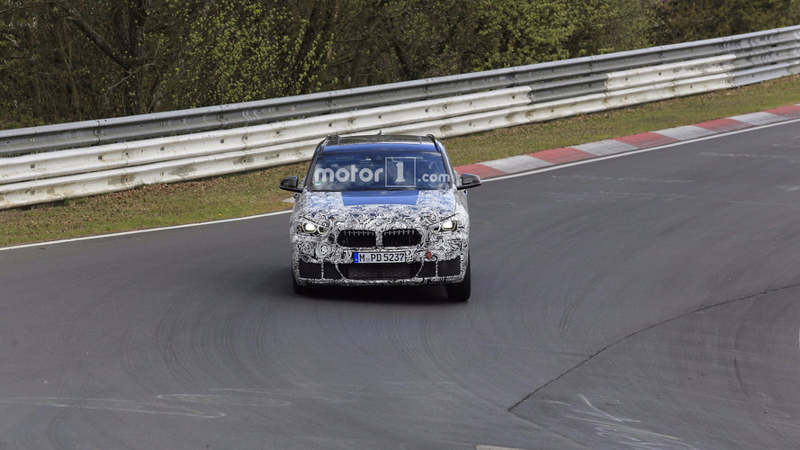 2018 BMW X2 spy photos from the Nurburgring