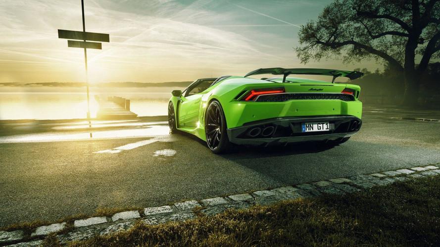 Un petit 860 ch pour la Lamborghini Huracan Spyder
