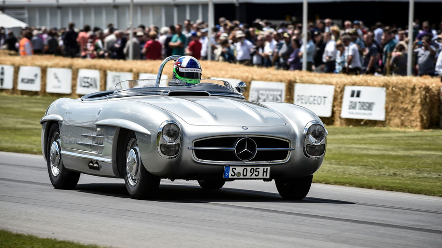 Mercedes Marks 60 Years Of The 300 SL Roadster
