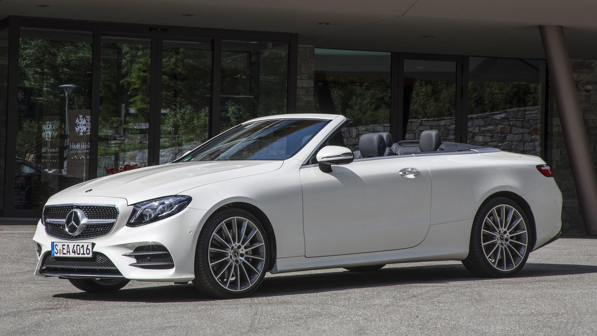 2018 mercedes benz e class cabriolet first drive four for Mercedes benz cabriolet for sale
