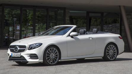 2018 Mercedes-Benz E-Class Cabriolet First Drive
