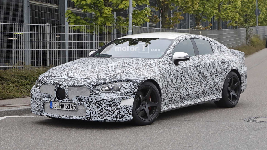 Four-Door Mercedes-AMG GT Spied Up Close