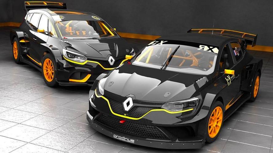 Un Renault Scénic destiné au rallycross peut-il voir le jour ?