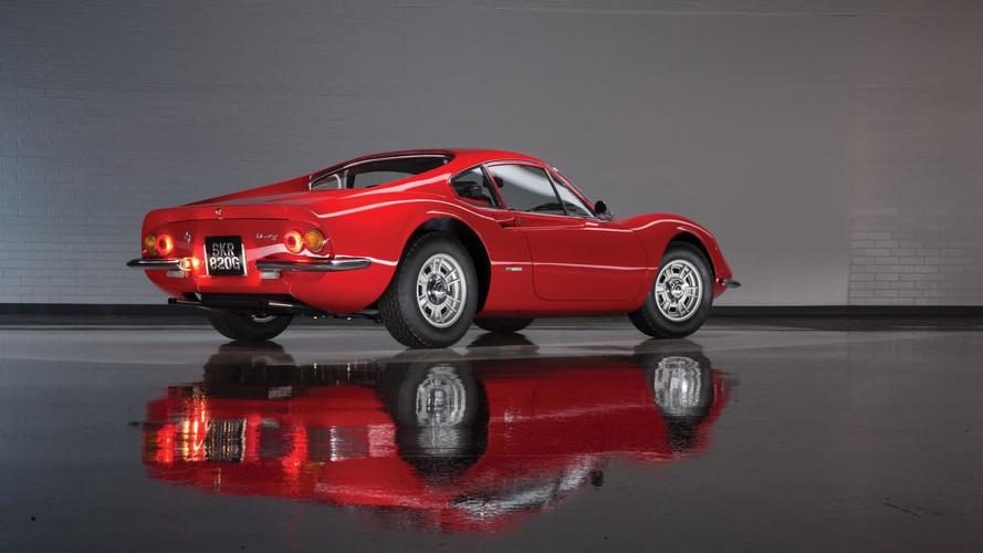 1969 Ferrari Dino 206 GT Scaglietti