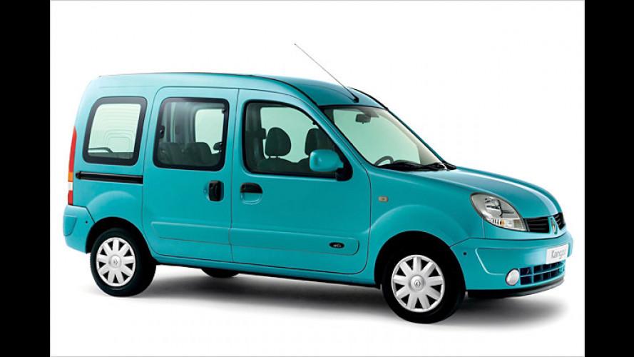 Renault: Kangoo und Kangoo Rapid fit fürs Modelljahr 2007