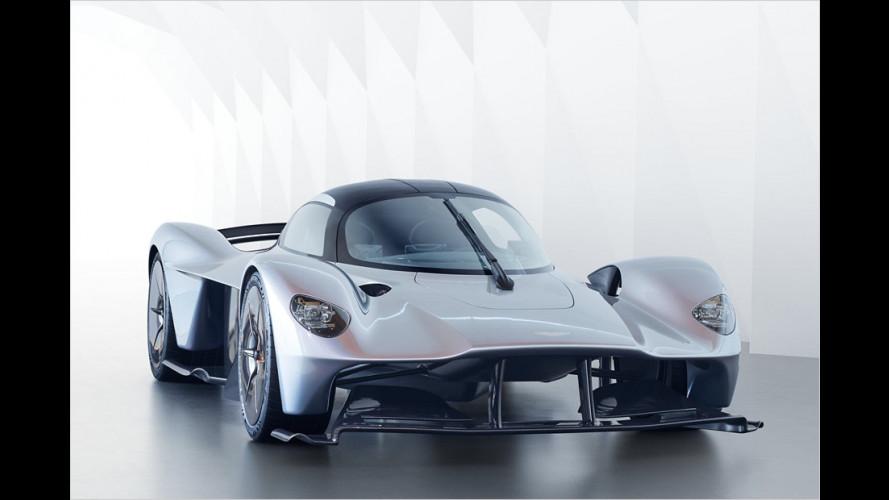 Aston Martin Valkyrie: Neue Enthüllungen