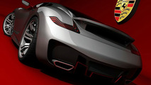 Porsche Supercar Concept Rendered by Emil Baddal