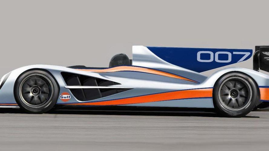 Aston Martin shows new LMP1 race car design for Le Mans 2011