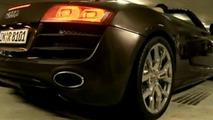 Audi R8 Spyder V10 with DTM Driver Mattias Ekström video screenshot - 825 - 10.03.2010