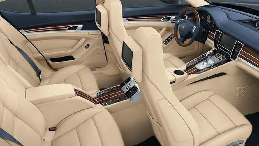 Porsche Panamera Exclusive and Tequipment customization options