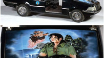 Michael Jackson's custom Peter Pan golf cart