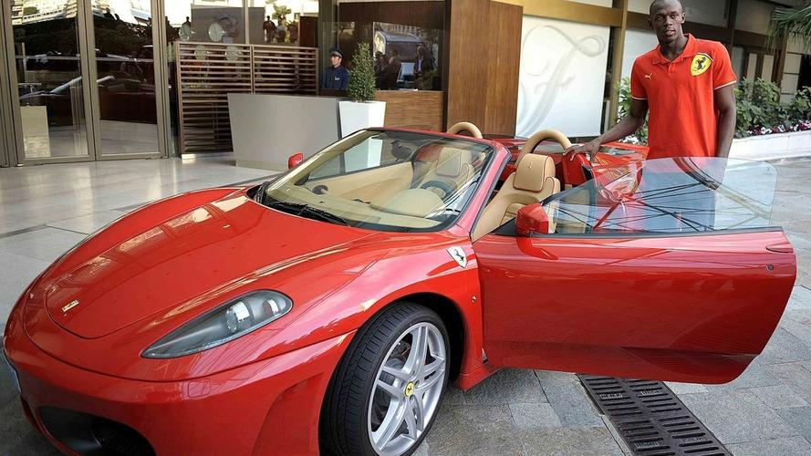 Olympic Champion Usain Bolt Gets Ferrari Dream Drive in Monaco