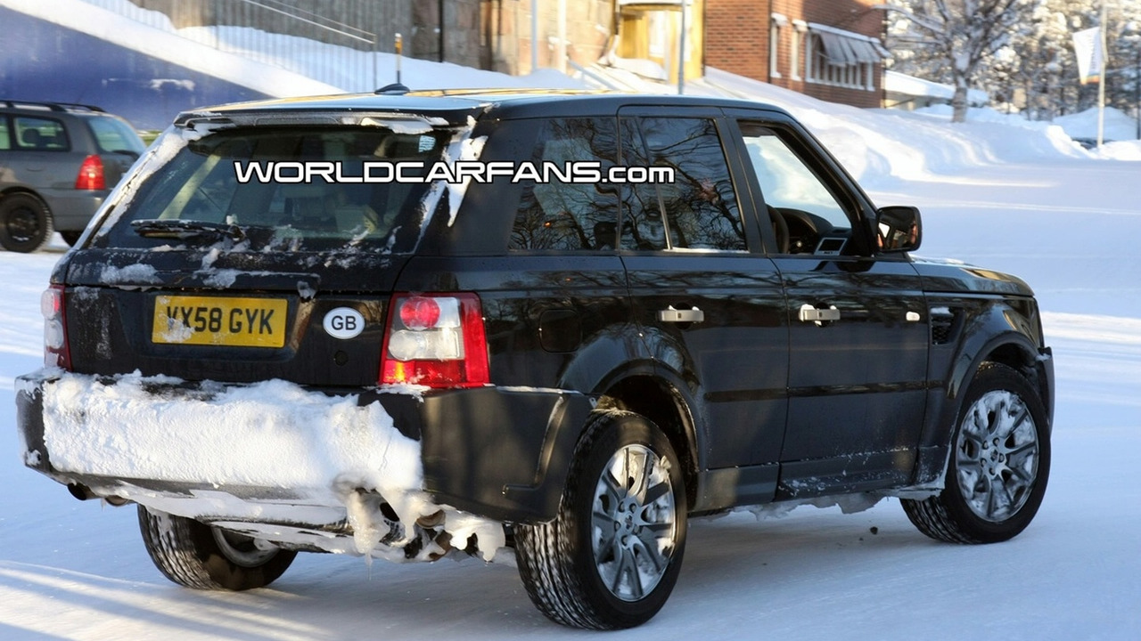Land Rover Raneg Rover Sport Facelift Spied