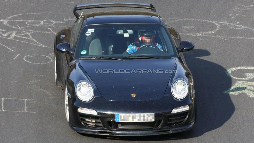 Porsche Aerokit Cup for 997 Facelift Spy Photos