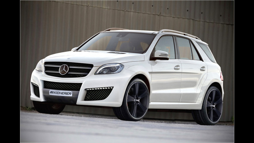 Kicherer Mercedes ML ,Impact