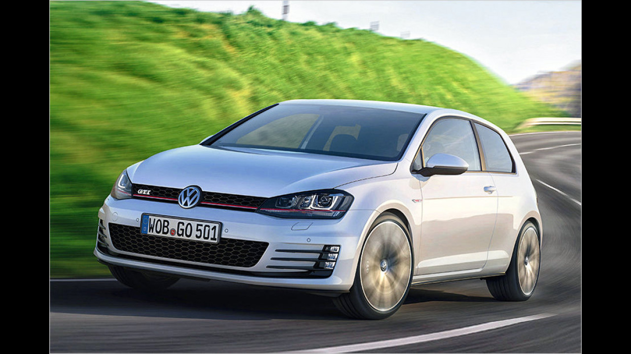 VW Golf GTI Performance: 6,4 Sekunden
