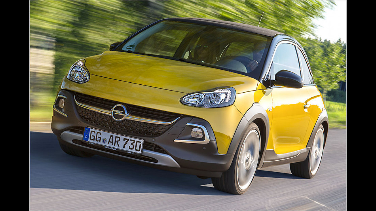Flop: Opel Adam Rocks