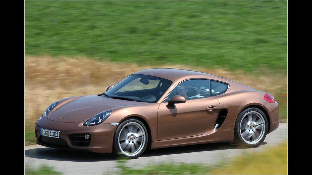 Platz 8: Porsche Cayman, 200 Neuzulassungen