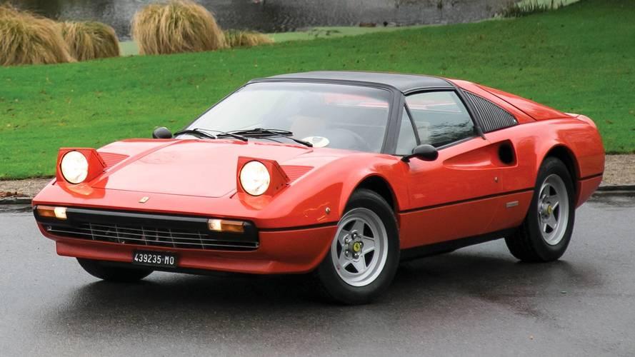 El Ferrari 308 GTS de Gilles Villeneuve, a subasta