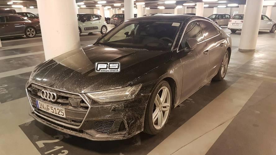 Fotos espía Audi S7 Sportback 2018 sin camuflaje
