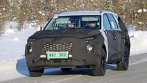 Hyundai Three-Row SUV Spy Photo