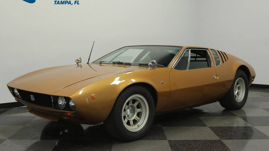 Low-Mileage 1969 De Tomaso Mangusta Demands $300,000