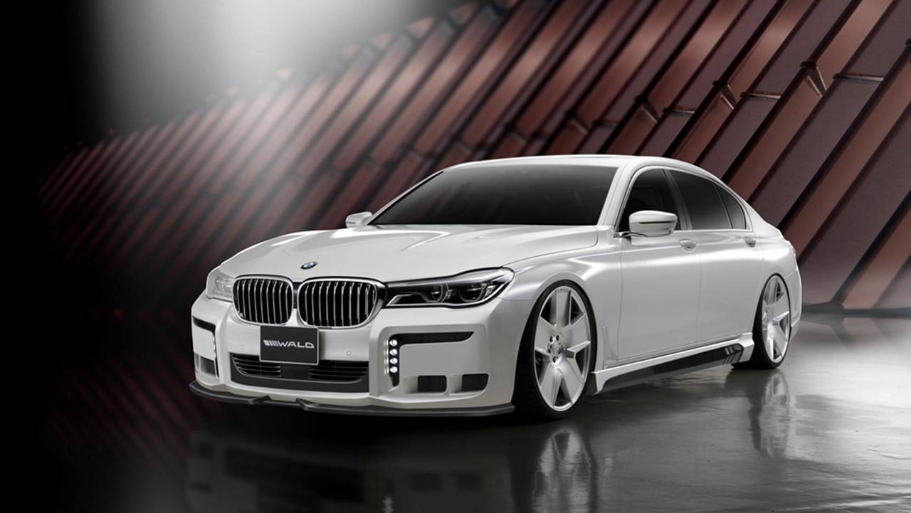 Wald International Black Bison BMW 7 Serisi