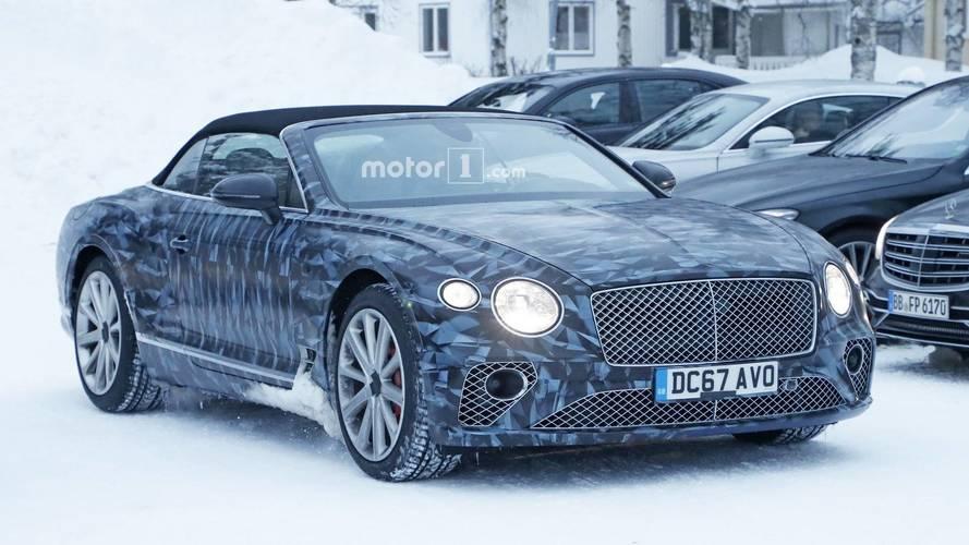 [GÜNCEL] Yeni Bentley Continental GTC kutup kamuflajlarıyla göründü