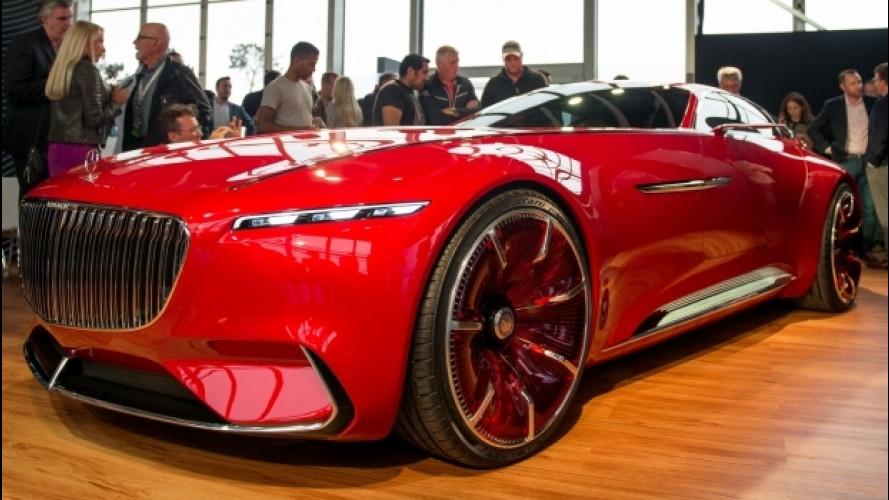 Mercedes-Maybach 6, la super coupé elettrica