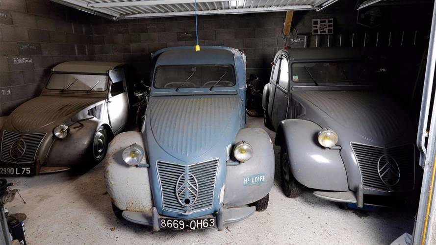 Citroën 2CV Type A auctioned by Osenat