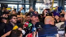 Carlos Sainz al regreso del Dakar 2018