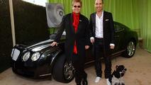 Bentley Continental GT and Sir Elton John