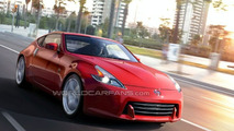 Nissan 370Z artist illustration