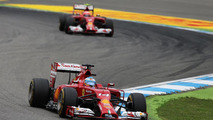 Fernando Alonso (ESP) leads Kimi Raikkonen (FIN), 20.07.2014, German Grand Prix, Hockenheim / XPB