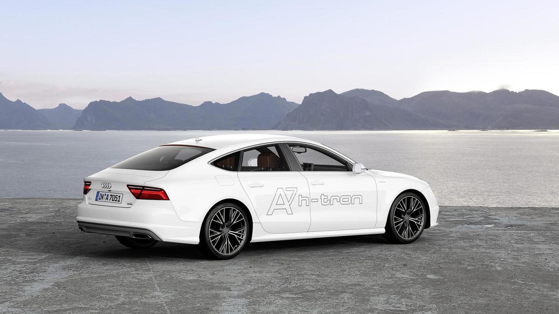 Водородная Audi A7 Sportback h-tron quattro concept 2014