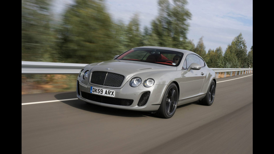 Bentley Continental Supersport riciclabile all'85%
