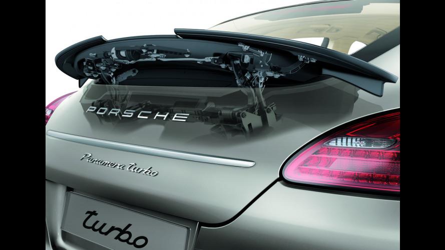 Porsche Panamera: autotelaio e sospensioni