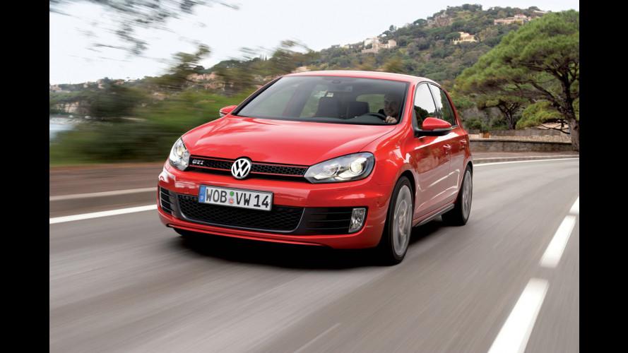 Volkswagen Golf GTI, la carriera