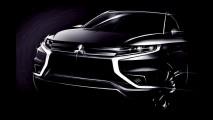 Mitsubishi apresentará novo Outlander híbrido em Paris; veja teasers