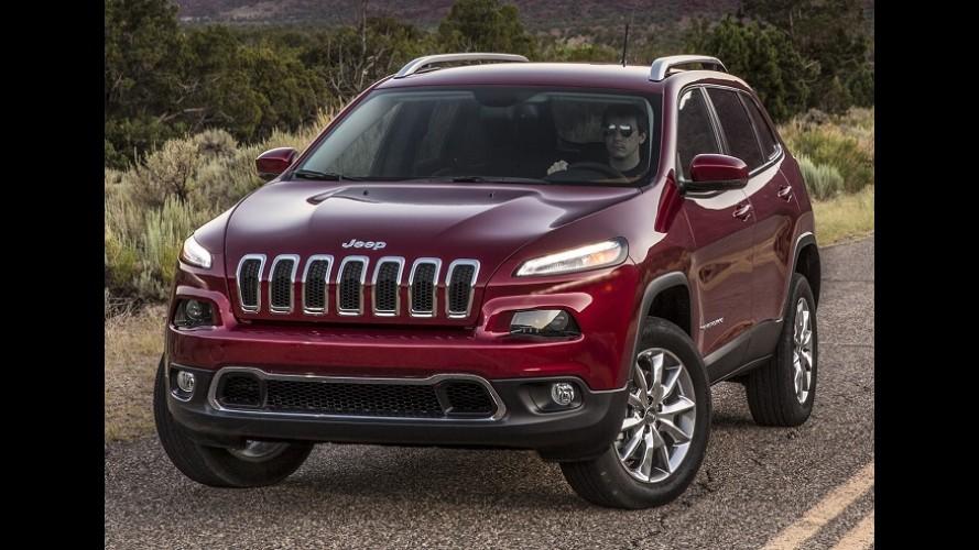 Jeep Cherokee: 12 mil unidades encalhadas por falha no câmbio