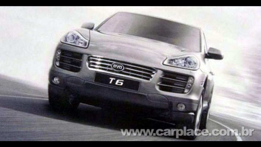 BYD T6 SUV: Fabricante chinês lançará clone do Porsche Cayenne equipado com motor 2.0