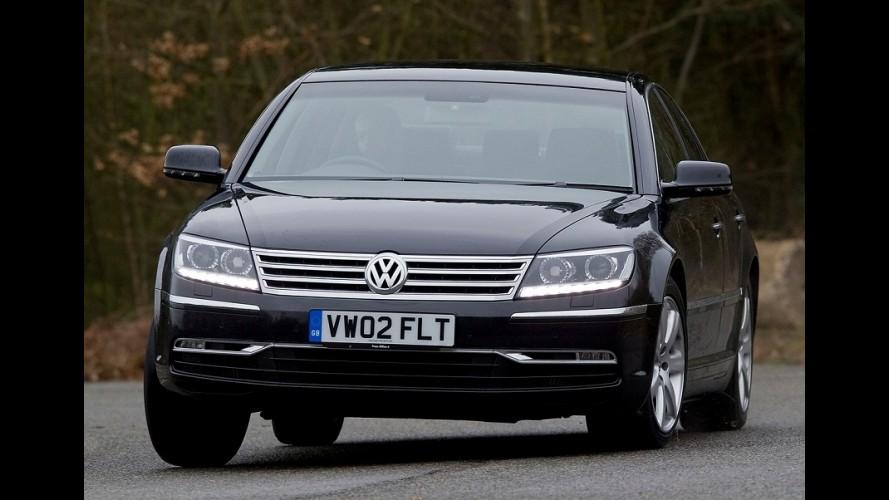 VW Phaeton: custo de produção fica alto demais e atrasa nova geração