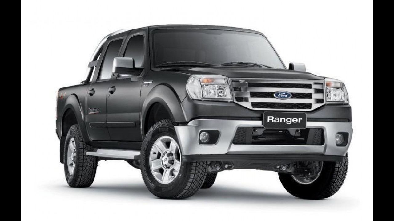 Ford Ranger 2012 chega ao mercado com nova opção de cor e mais equipamentos de série
