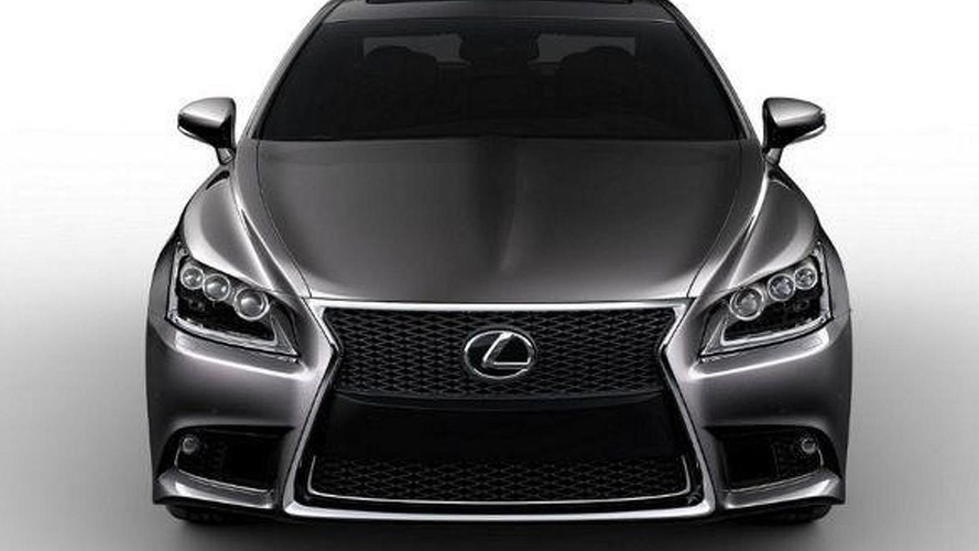 2013 Lexus LS leaked?