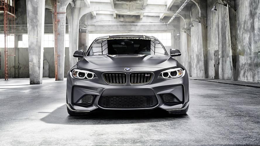 BMW M Performance Parts konsepti Goodwood'da