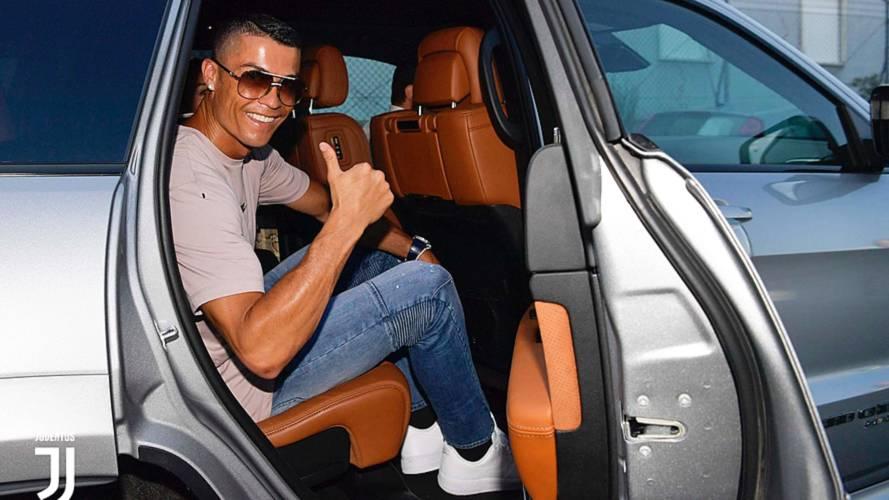 Cristiano Ronaldo, l'auto aziendale è la Jeep Grand Cherokee Trackhawk