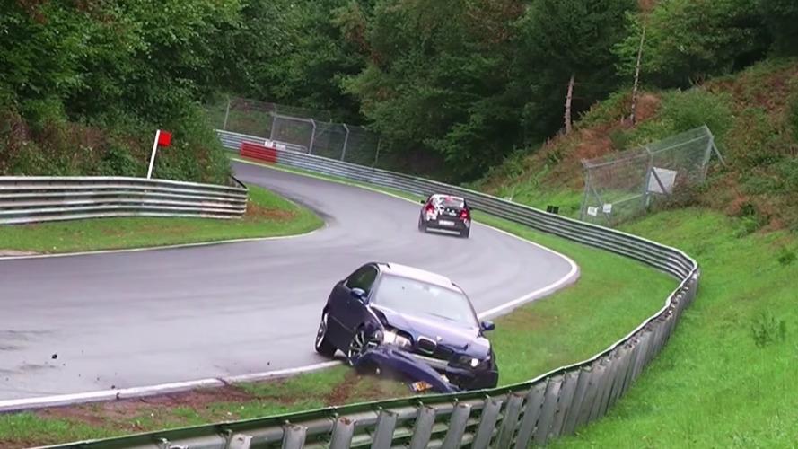 2016 yılının son Nürburgring kaza ve drift derlemesi